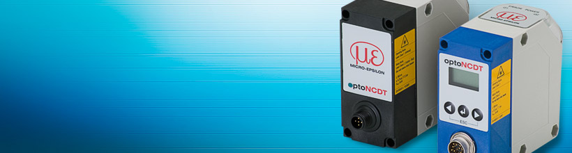 Laser gaging sensor for distance and position measurements up to 10m